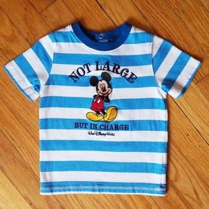 Mickey Mouse Tshirt Toddler 24M Boys Mickey Tee